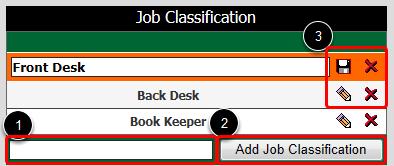 Job Classifications