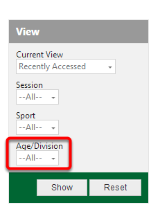 Age/Division View