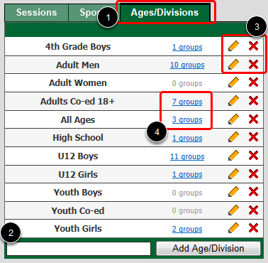 Age/Divisions