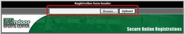 Registration Header