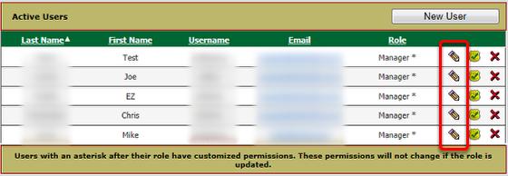 Edit User Accounts