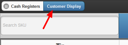 Customer Display Button