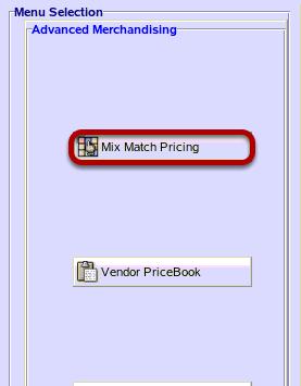 Mix Match Pricing