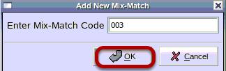 Add New Mix-Match