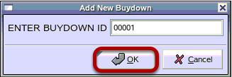 Add New Buydown