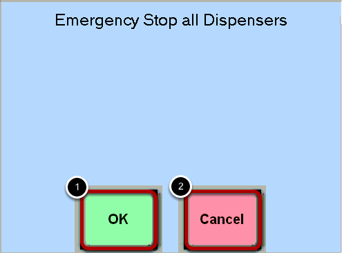 Emergency Stop Confirmation
