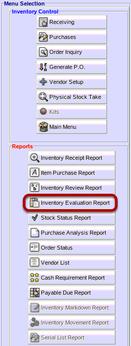 What If I Need A Report That Provides Me a Cost For My Inventory To Provide To My Accountant?
