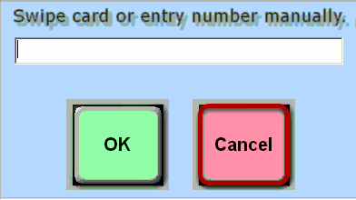 Card Swipe Prompt