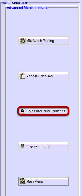 Sales and Price Bulletins