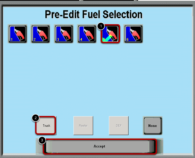 Fuel Selection