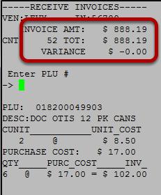 Accept Invoice