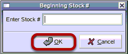 Beginning And Ending Stock #