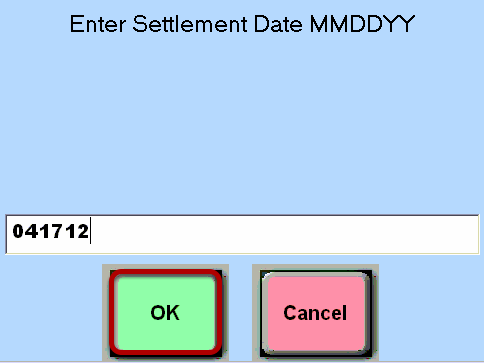 Settlement Date