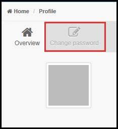 Focus Next Steps: Edit profile change password