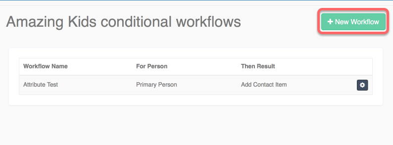 Focus Next Steps: Conditional Workflows