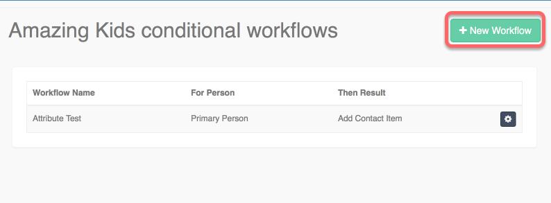 Focus Next Steps: Conditional Workflows