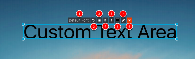 Custom Text Tools