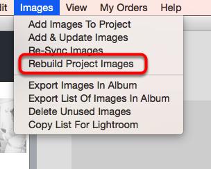 Rebuild Project Images