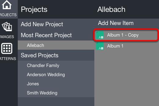 Album Copy