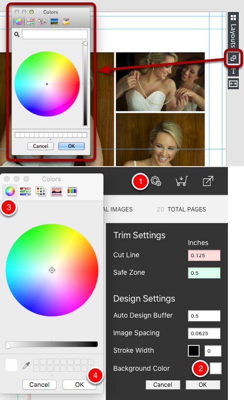 Color Selection for Mac (Mavericks)