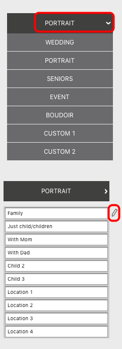 Edit Custom Tags