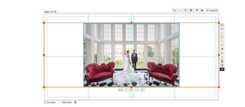 Creative Drop Zone Technique to Create a Panorama