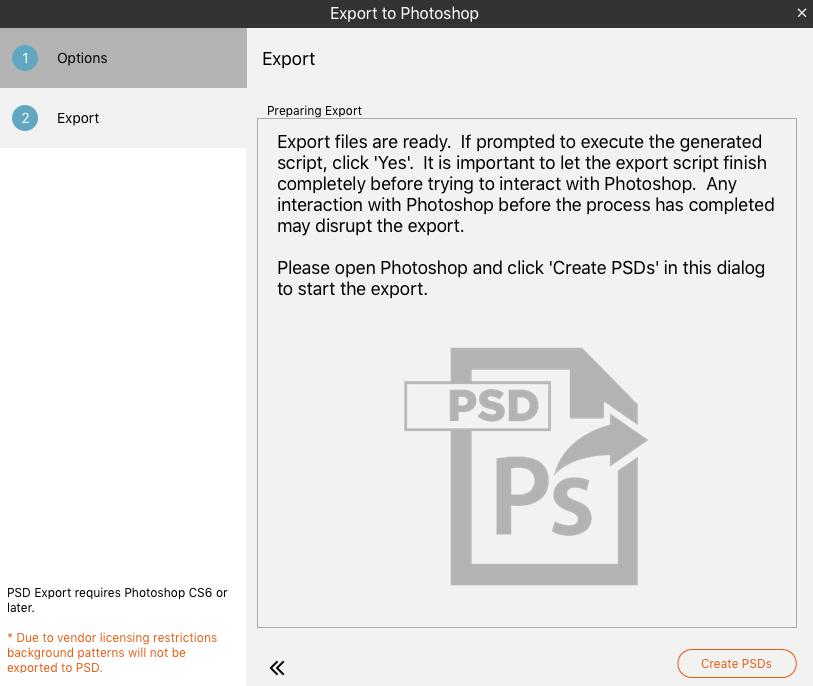 Create PSD