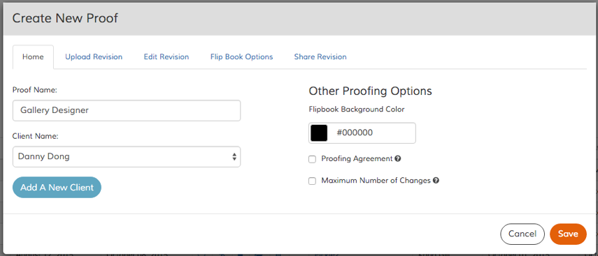 Uploading to Design Proofer