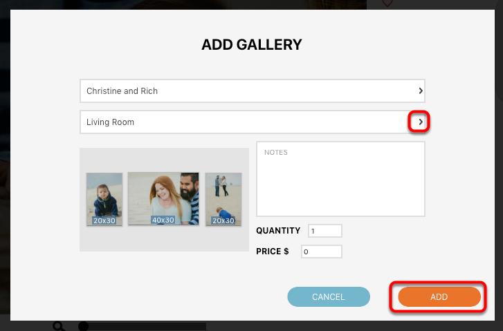 Adding a Gallery