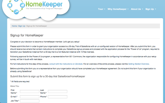Sign Up for Our Trial of HomeKeeper