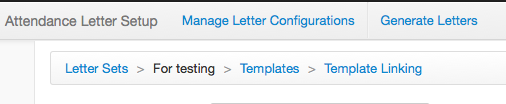Templates and Template Linking