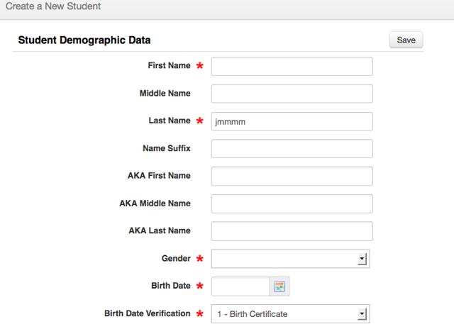 Verify the Registration Screen