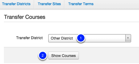 Transfer Courses