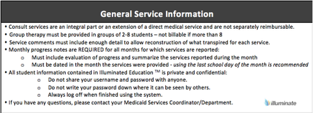 General Service Information- OT
