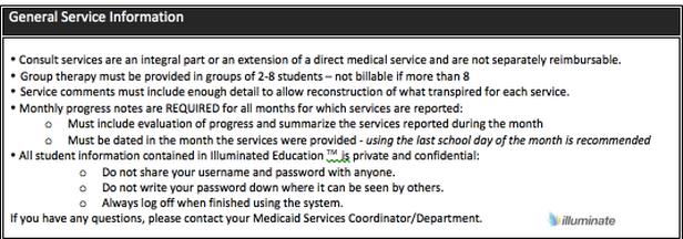 General Service Information- PT