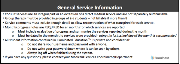 General Service Information- SLP