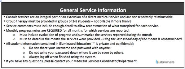 General Service Information