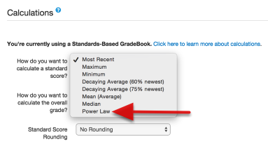 Gradebook: Enhancements