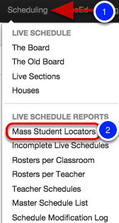 Mass Student Locators