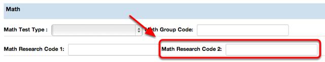 Math Research Code 2