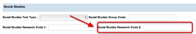Social Studies Research Code 2