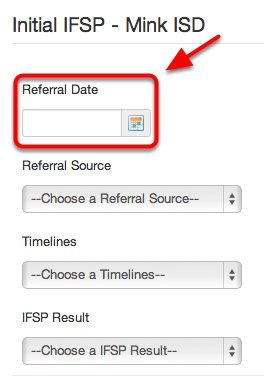 Referral Date