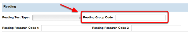 Reading Group Code