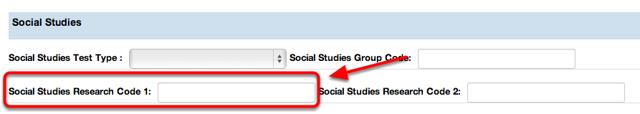 Social Studies Research Code 1