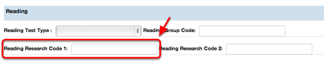 Reading Research Code 1