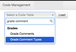 Comment Types (Optional)