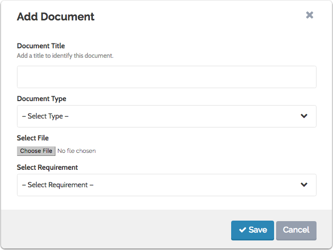 Upload the document