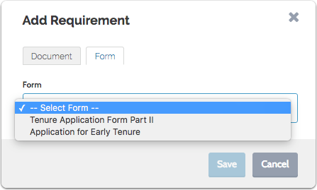 For form requirements: