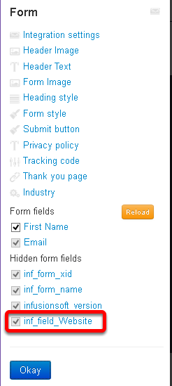 How to use Hidden Form Fields – Leadpages Knowledge Base