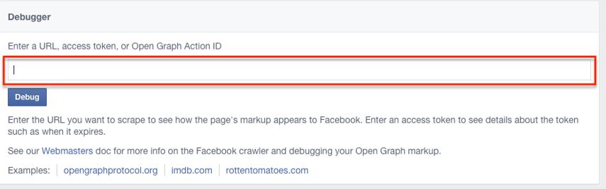 Run your URL through the Facebook Debugger Tool